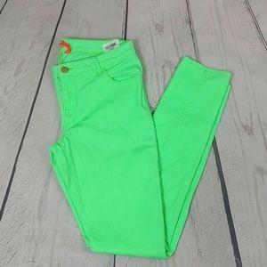 🎈Only Neon Green Women's Skinny Jeans